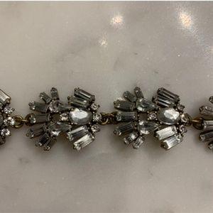 J . Crew Embellished Glass Bracelet